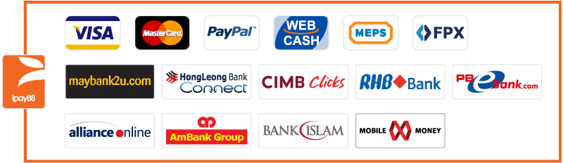 iPay88 Payment Methods